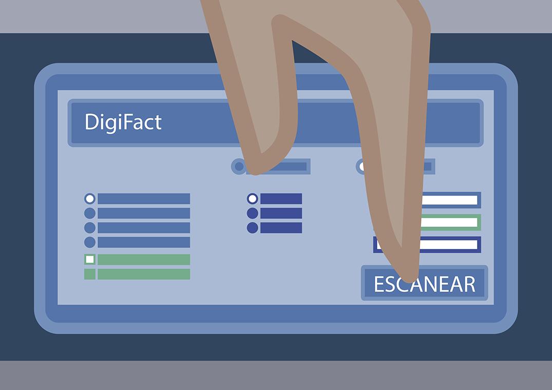 3. Indique como digitalizar e inicie el proceso
